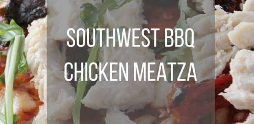 Southwest BBQ Chicken Meatza