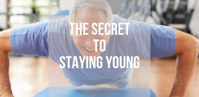 The Secret to Staying Young? … Exercise!